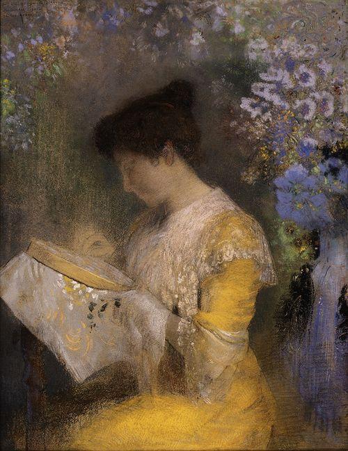 Odilon Redon, Madame Arthur Fontaine