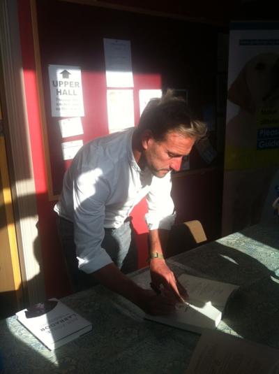 Ben Fogle book signing