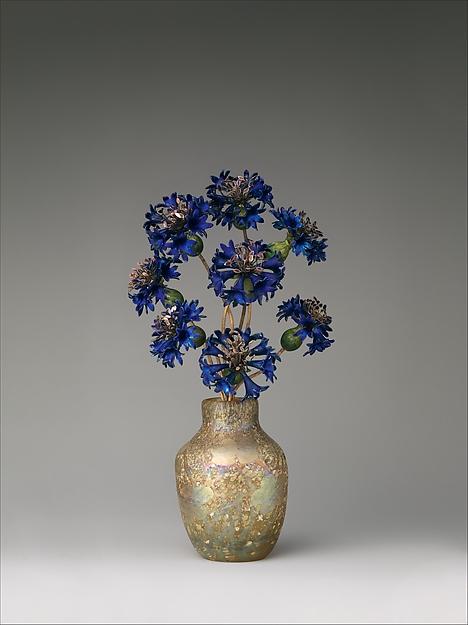 Faberge cornflowers