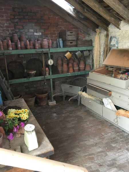 Potting shed, Floors Castle