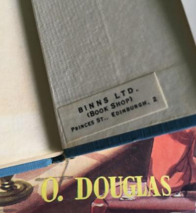 O. Douglas, Binns, Edinburgh