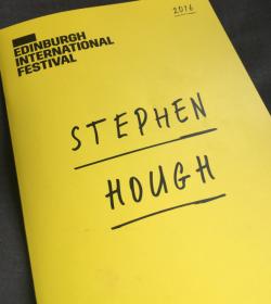 Stephen Hough, Edinburgh International Festival