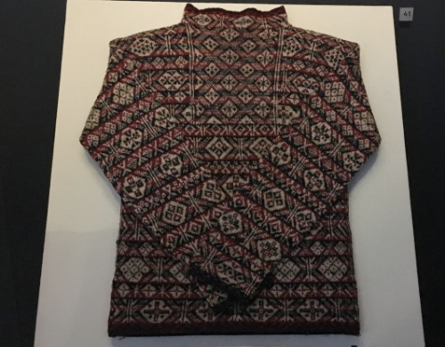 The Fair Isle Jumper, National Museum of Scotland