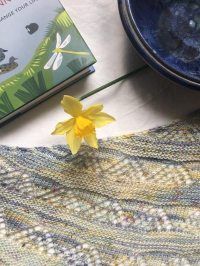 Soft Sunday shawl
