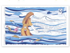 Great Tapestry tea towel