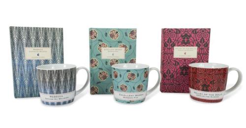 VMC mugs and notebooks