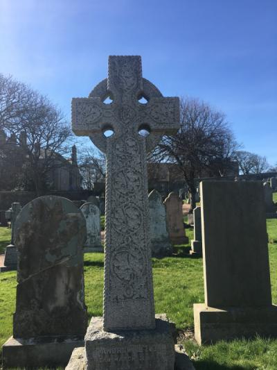 Grave of Andrew Lang, St. Andrews Cathedral