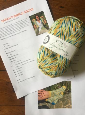 Marie Curie yarn & pattern