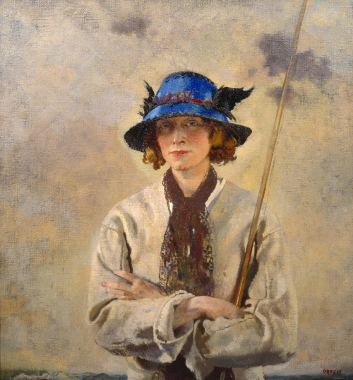 The Angler  Orpen