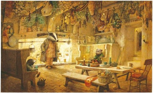 Badger's house, Robert Ingpen