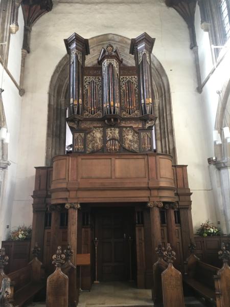 Organ, Framlingham