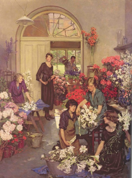 The Flower Shop  Anna Airy